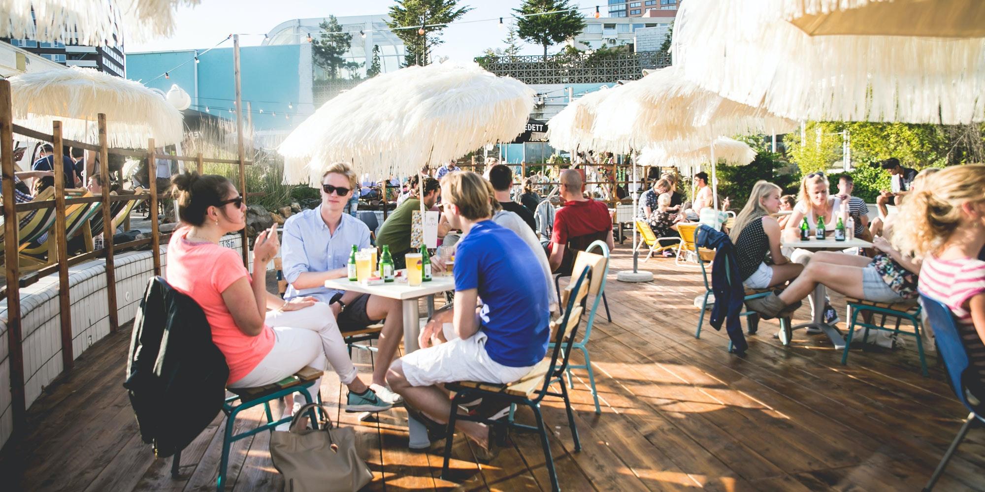 Barbecue Restaurant Rotterdam.Summer Terraces In Rotterdam Rotterdam Tourist Information